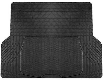 Large Heavy Duty Black Rubber Car Boot Mat Liner for Audi Q7 -with Cutting Lines