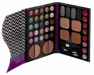 Technic Complete Face and Eyeshadow Palette With Brush Make-up Set 95213