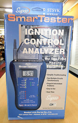 Stsvk H26-471 Supco Smartester Ignition Control Analyzer Hvac New In Box