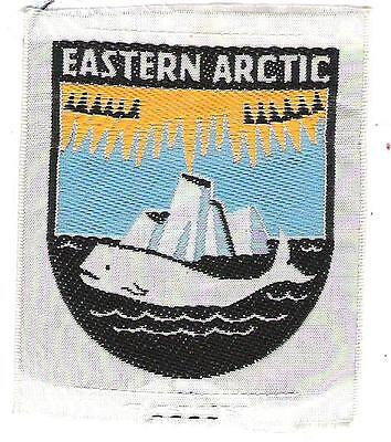 S1) Scouts Canada  - Eastern Arctic - silk