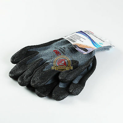 3M Comfort Grip Gloves Winter Warm In Cold Weather Nitrile Foam Coated, XL