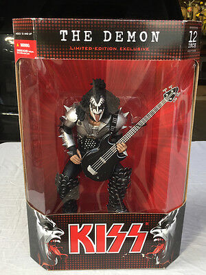 "Kiss Gene Simmons The Demon 12"" Figure W/ Original Box 2004 McFarlane's Toys NEW"