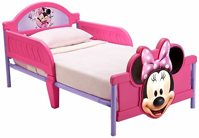 Disney Minnie Mouse 3D Footboard Toddler Bed NEW