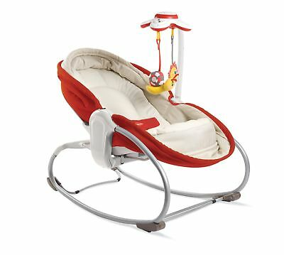 Tiny Love 3-in-1 Rocker Napper - Red NEW