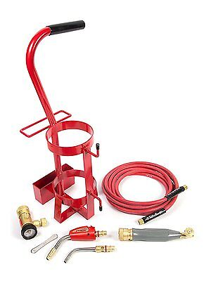 TurboTorch TDLX2003MC Air Acetylene Carrier Kit Swirl Without Tank, 0426-0011