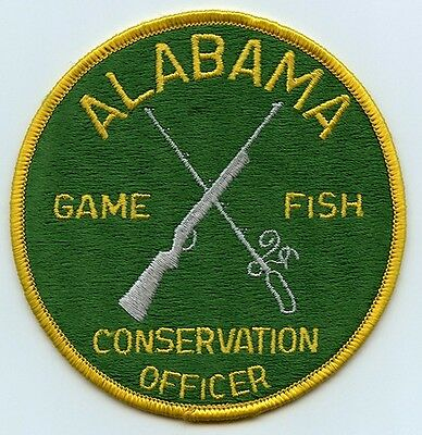 Early 1980's State of Alabama Fish & Game Conservation Officer Patch