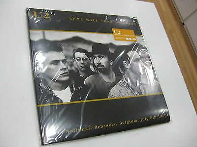 U2 2 Lp Love Will Tear Us Apart Limited Edition Green Vinyls