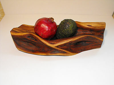 Diamond Willow hand crafted Wood dish, Home Decor wood bowl, Fruit Bowl