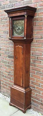 Cottage Oak Longcase Thomas Hutchinson Of Worksop