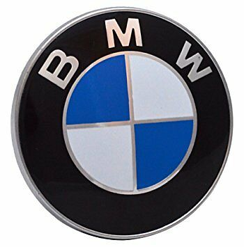 EMBLEMA  BMW 82 MM DE DIAMETRO Ref. 51148132375.CAPO Y MALETERO. MADE IN GERMANY