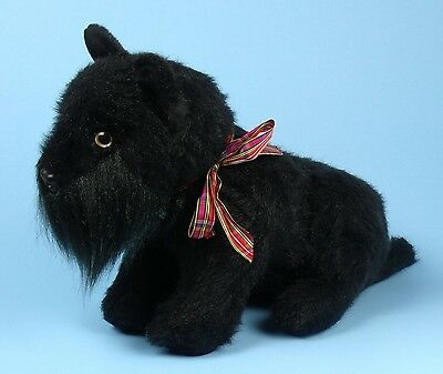 HARD TO FIND Vintage MERRYTHOUGHT SCOTTIE Plush Dog Made In ENGLAND
