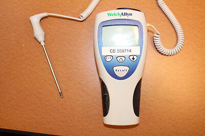 Welch Allyn SureTemp 692 Digital Thermometer With Probe And Wall Mount