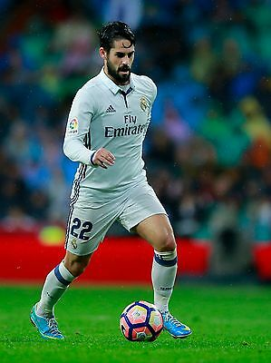 Isco - Real Madrid - 2016/17 - A1/A2/A3/A4 Poster / Photo Print