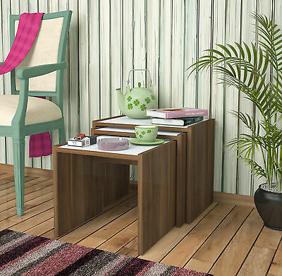 Modern Design Nest Of 3 Table/side Table - Nested Tables - Coffee Table
