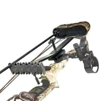 Mossy Oak Bow Quiver Archery Hunting Compound Carbon Aluminum Arrow Holder Bows