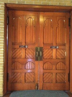 Old Growth Pine Doors