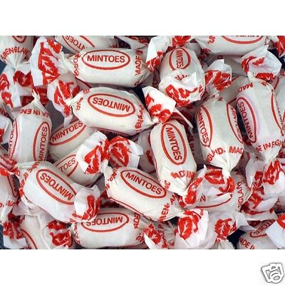 UK Sweets - Tilley's mintoes Hard Boiled Sweet 200g