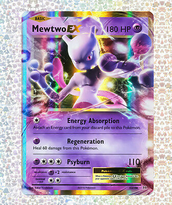 Mewtwo Ex 52/108 Evolutions NM/M Ultra Rare