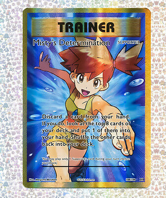 Misty's Determination Full Art 108/108 Evolutions NM/M Ultra Rare