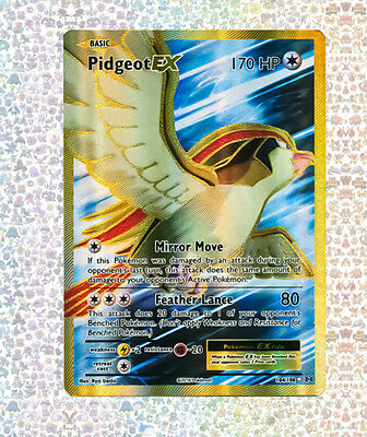 Pidgeot Ex Full Art 104/108 Evolutions NM/M Ultra Rare