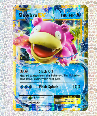 Slowbro Ex 26/108 Evolutions NM/M Ultra Rare