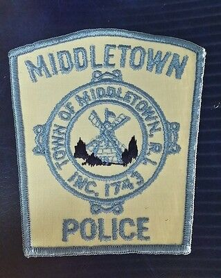 Middletown, Rhode Island Police Shoulder Patch Ri