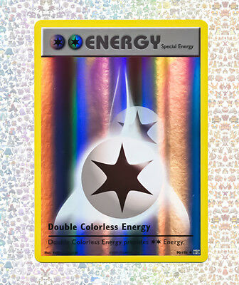 Double Colorless Energy 90/108  Evolutions NM/M Uncommon Reverse Holo