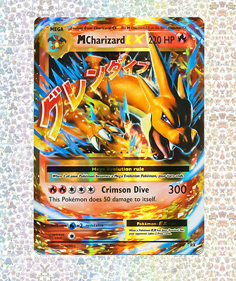 M Charizard Ex 13/108 Evolutions NM/M Ultra Rare