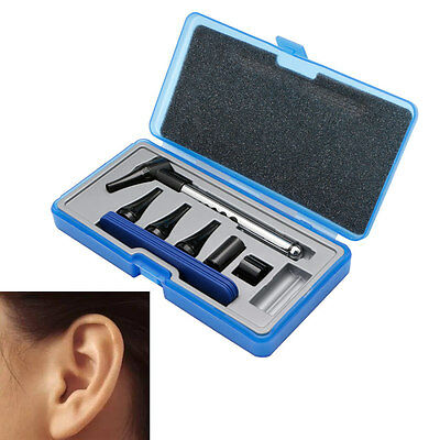 1Set Otoscope Ophthalmoscope Stomatoscop Medical Ear Care Diagnostic Instruments