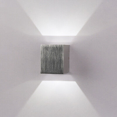Modern Wall Light Indoor Up & Down 3W LED Sconce Lighting Lamp Cool White