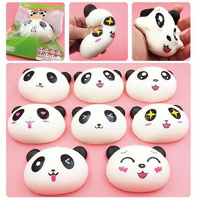 Jumbo New Arrival 10CM Colossal Squishy Cute Panda Cream Scented Slow Rising