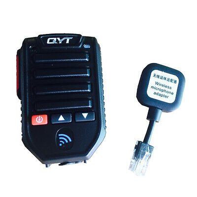 Wireless Bluetooth Microphone 10 Meters Receive Range for QYT KT-7900D/KT-89000D
