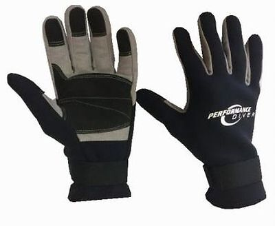 Performance Diver G12AB Cray Gloves