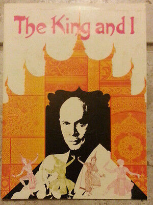 The King And I - 1976 Official Souvenir Program + Playbill