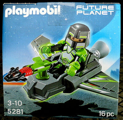 Playmobil 5281  Future Planet  Robo-Gangster Spy-Glider