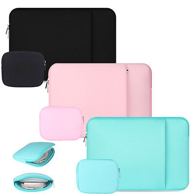 """11"""" 13"""" 15"""" Laptop Sleeve Case Carry Bag Pouch +Mouse Bag For Mac Air/Pro/Retina"""
