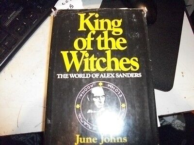 King Of The Witches The World of Alex Sanders by June Johns 1969  Rare