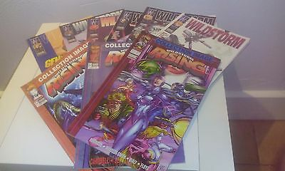 Lot comics Wildstorm 1 à 6 + Wildstorm Rising 1 à 3 Image comics - Semic Edition