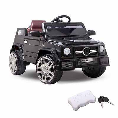Kids Electric Ride on Car Mercedes-Benz Style AMG G65 Children Toy Remote 12v