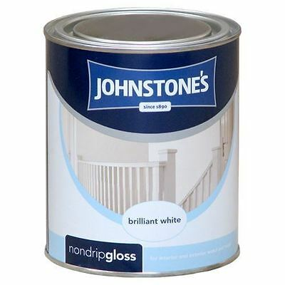 Johnstones Wood Metal Non Drip Gloss Paint For Interior Exterior Use