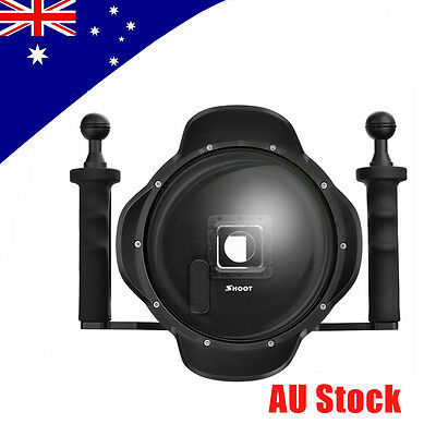"""SHOOT 2.0 6"""" Dome Port Lens Diving Shell Double Arm Tray Stabilizer f GoPro 3+/4"""