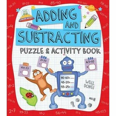 Adding and Subtracting Puzzle & Activity Book