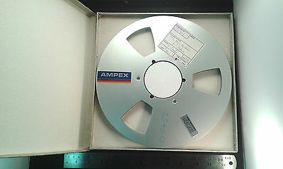 """10.5"""" Empty NAB Reel-to-Reel Spool for 0.25"""" 1/4 Inch Tape, Aluminium Flanges"""