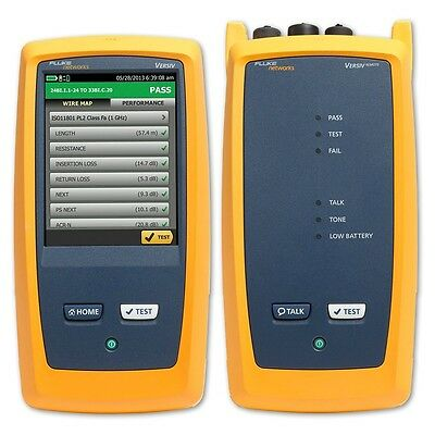 Fluke Networks DSX-5000 Network Cable Analyzer