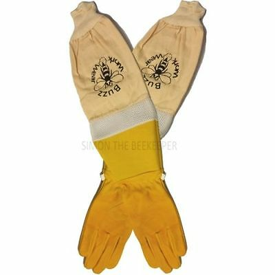 Beekeeping gloves with ventilation and superior protection - XXXXS