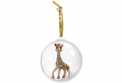 Sophie the Giraffe - Vulli BABY'S FIRST CHRISTMAS ORNAMENT BALL - Free Shipping