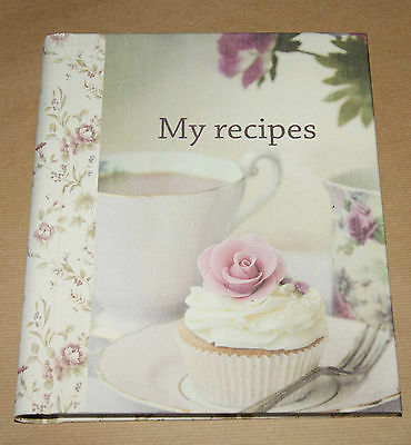 My Recipes  - Floral design with matching dividers