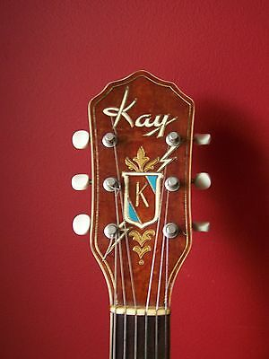 Kay Jimmy Reed Nickel Kluson Guitar Tuners
