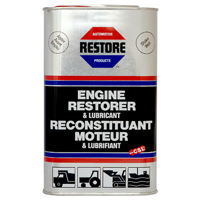 MARINE, BOAT ENGINE smoky? Bad starter? AMETECH ENGINE RESTORE OIL - 1 Litre can