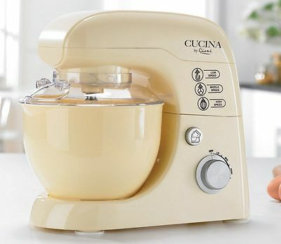 Giani 3L Electric Stand Mixer & Attachments 8 Speed Cream ** NEW **